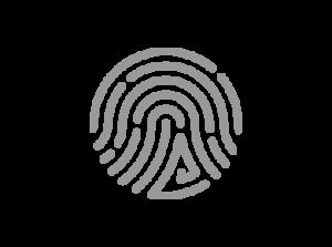 Finger print Zytronic grey