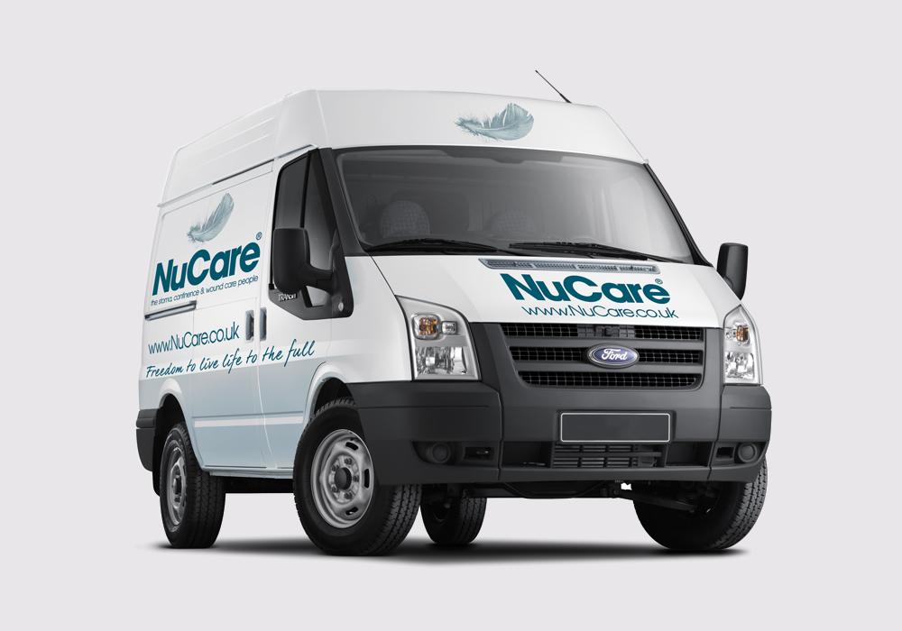 NuCare branded van