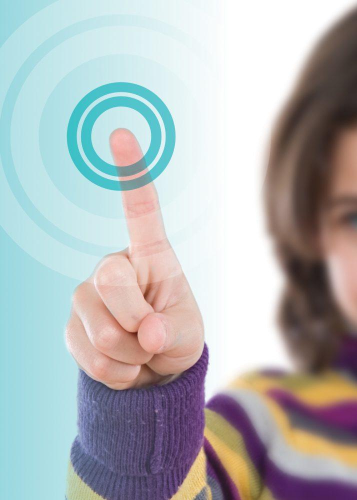 Ievo rebrand advertisement of fingerprint reader half size