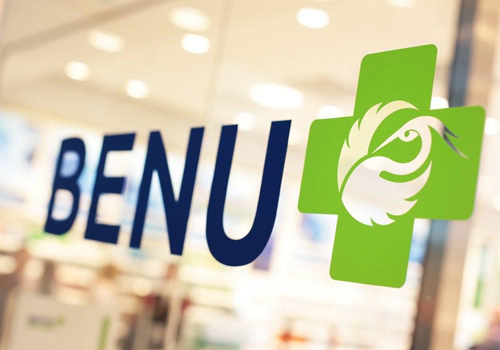 BENU Pharmacy brand logo