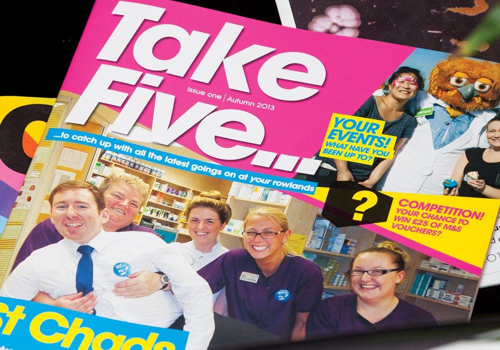 Cover of Take Five magazine