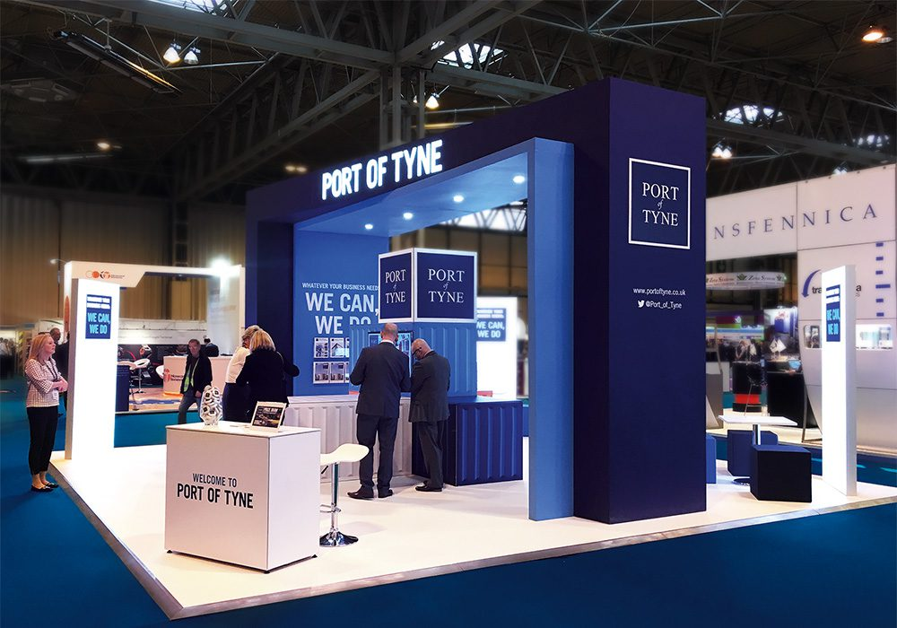 Port of Tyne Multimodal Exhibition Stand