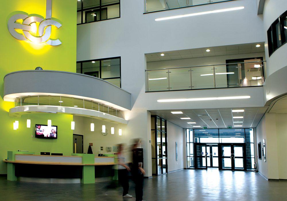 East Durham College building
