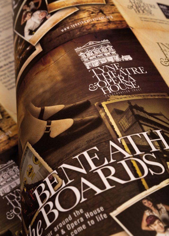 Half size of Tyne Theatre Opera House brochure