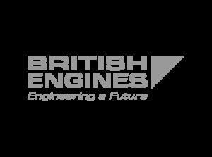 British Engines Logo in gray