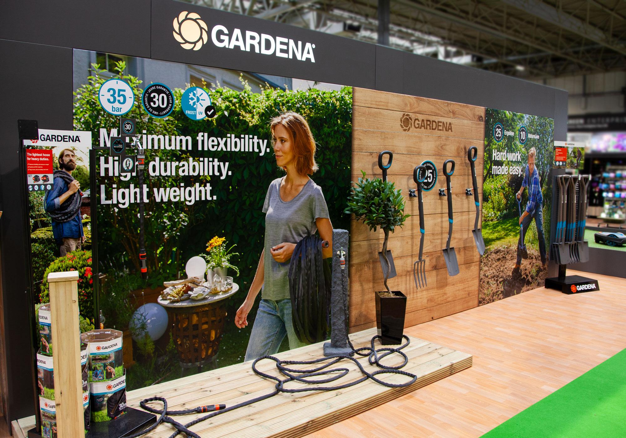 Gardena at GLEE exhibition