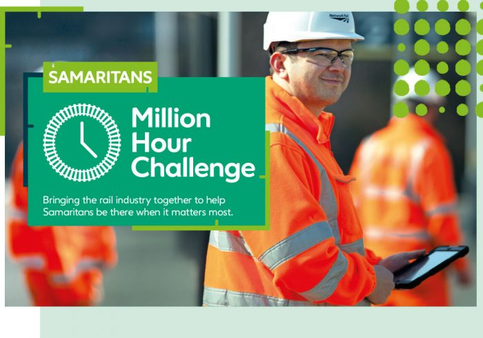 The Network Rail and Samaritans Million Hour Challenge