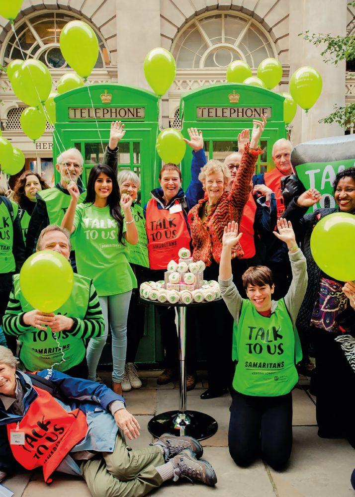 The Network Rail and Samaritans Million Hour Challenge